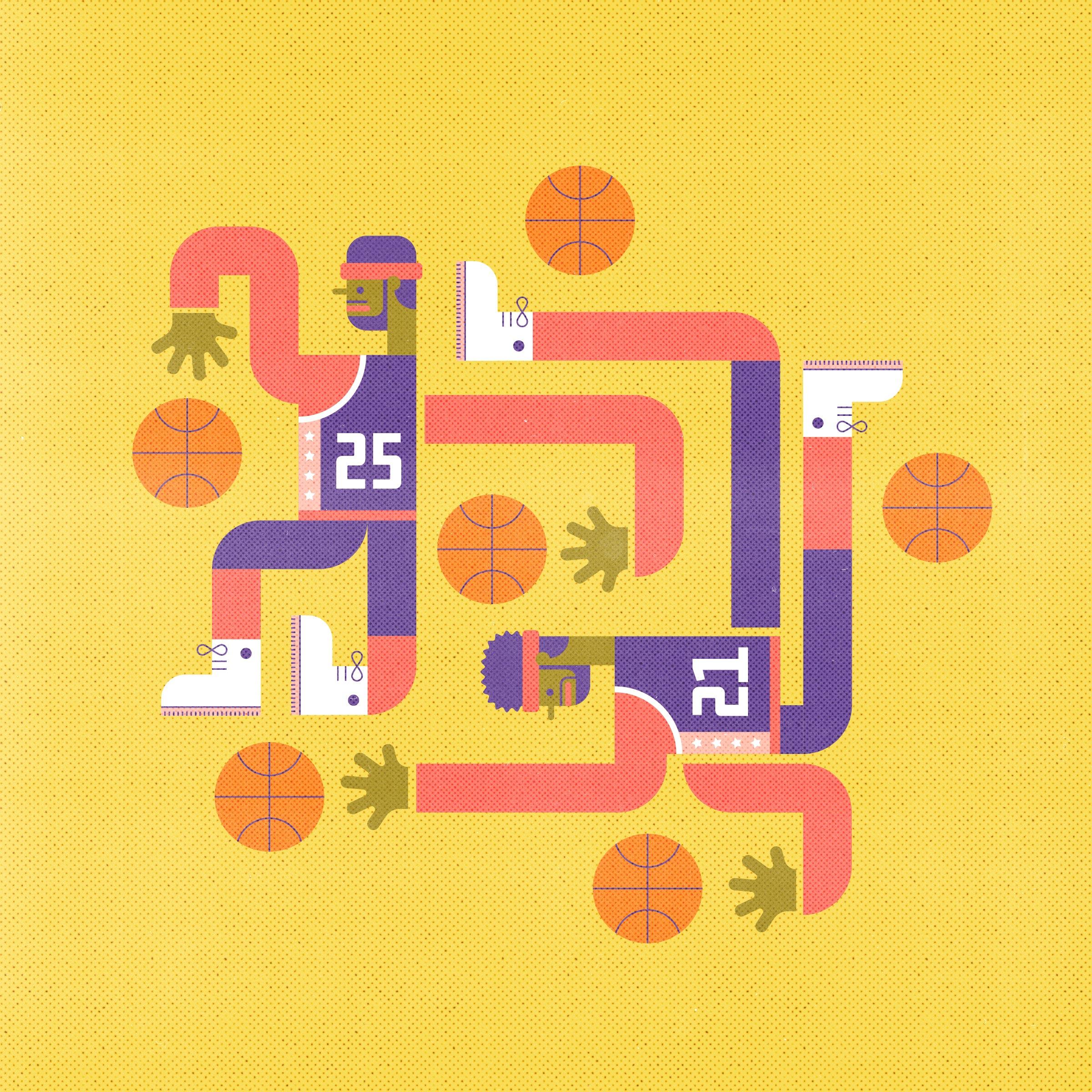 basketballers_illo_texture